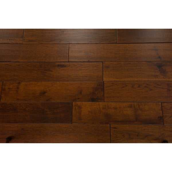 Mosley Collection Solid Hardwood in Chocolate - 3/4' x 5' (22.6sqft/case) - 3/4' x 5'